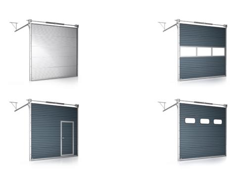 sekcionalne garazove brany