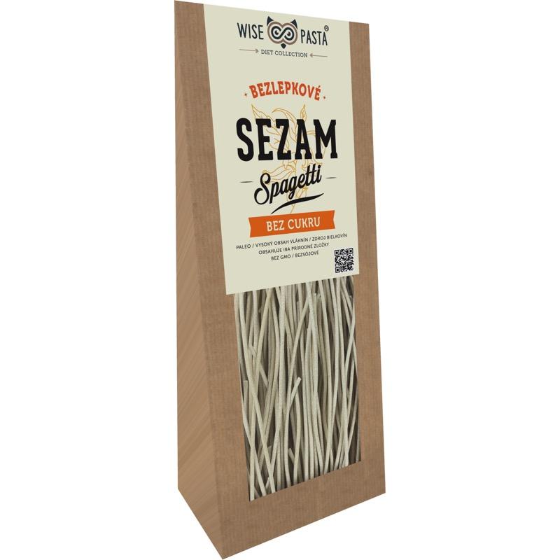 sezamové špagety